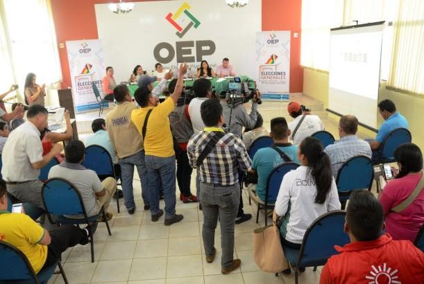 En Pando sortearon a 2.334 juradas y jurados electorales para las Elecciones Generales de 2019