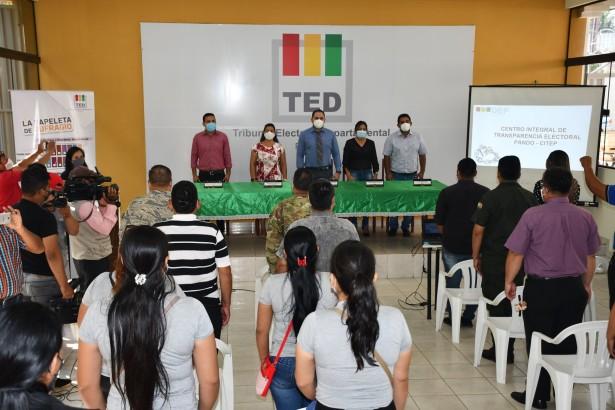 El TED Pando inaugura el Centro Integral de Transparencia Electoral