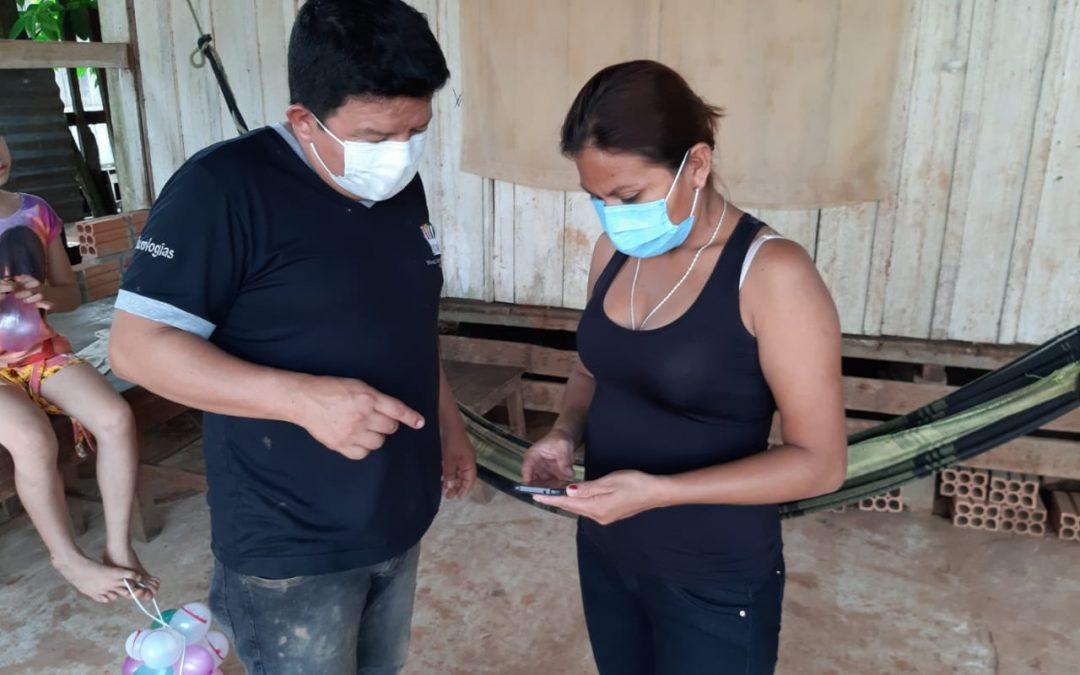 Notarios Electorales rurales son capacitados sobre el uso del sistema de monitoreo electoral en Pando